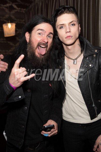 Bassist Blasko Of Ozzy Osbourne And Vocalist Andy Biersack Of Black