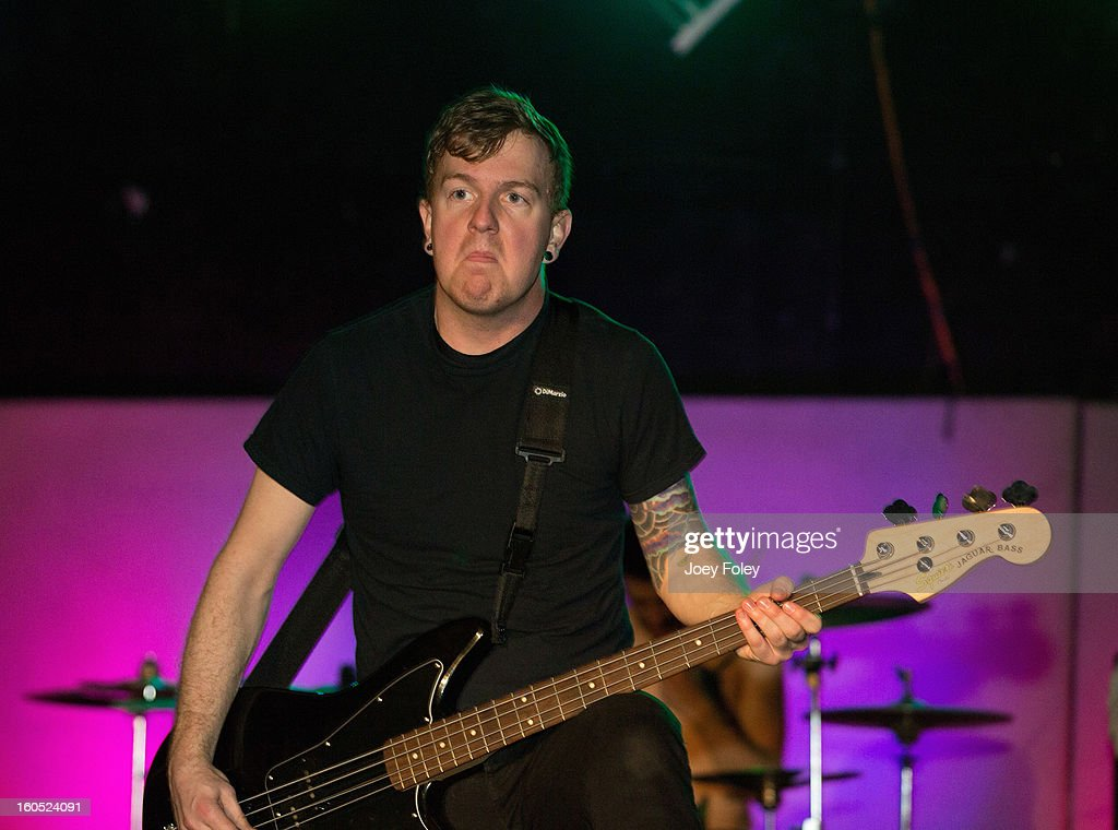 Bassist Cameron Keeter of Affiance performs at The Emerson Theater on February 1, 2013 in Indianapolis, Indiana.