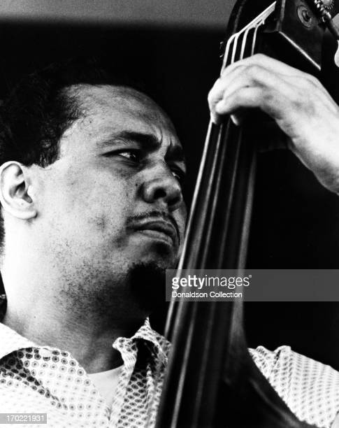 Bassist Charles Mingus performs onstage at the Newport Jazz Festival on July 4 1969 in New York City New York