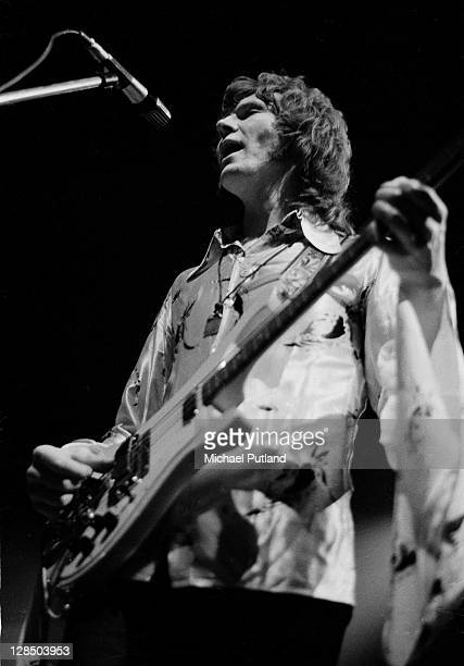 Bassist Chris Squire of Yes performs on stage at the Camden Festival The Roundhouse London 25th April 1971 He plays a Rickenbacker 4001 bass guitar