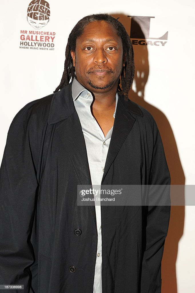 Bassist Darryl Jones arrives at Mr. Musichead Gallery for the 'Miles Davis: The Collected Artwork' Launch Party on November 7, 2013 in Los Angeles, California.