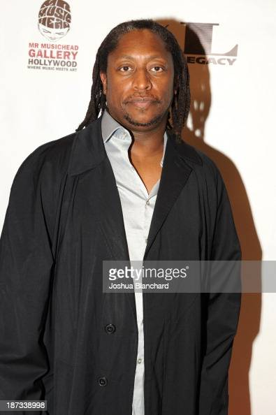 Bassist Darryl Jones arrives at Mr Musichead Gallery for the 'Miles Davis The Collected Artwork' Launch Party on November 7 2013 in Los Angeles...