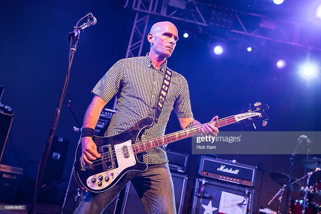 Bassist Doni Blair of the Toadies performs in concert during the Rubberneck 20th Anniversary Tour at Stubb's Bar-B-Q on June 14, 2014 in Austin, Texas.