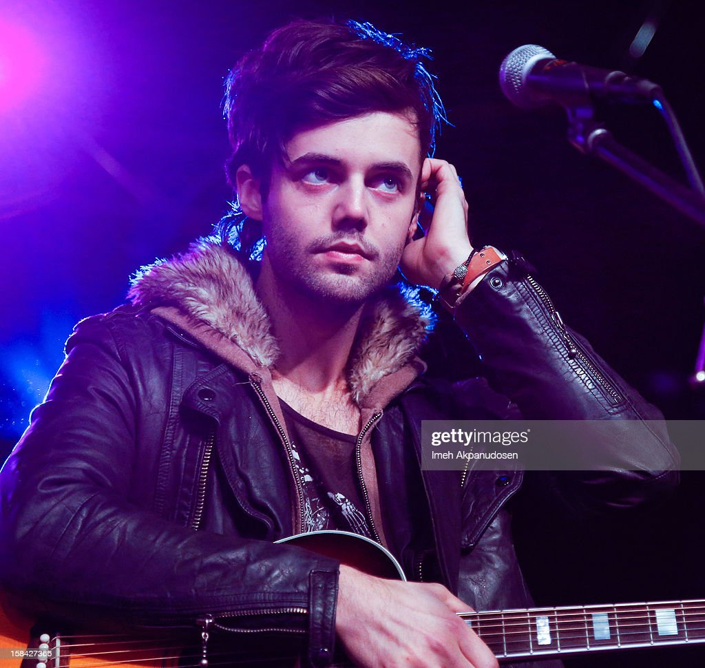 Bassist Ian Keaggy of Hot Chelle Rae performs onstage at The 3rd Annual Salvation Army Rock The Red Kettle Concert at Nokia Theatre L.A. Live on December 15, 2012 in Los Angeles, California.