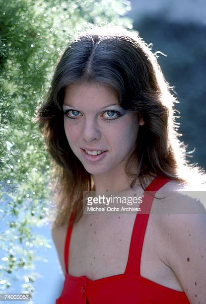 Bassist Jackie Fox of the rock band 'The Runaways' poses for a portrait at her house in Woodland Hills CA in November of 1976