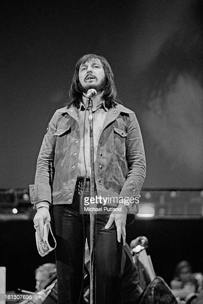 Bassist John Entwistle at rehearsals for the stage version of the Who's rock opera 'Tommy' at the Rainbow Theatre London 9th December 1972