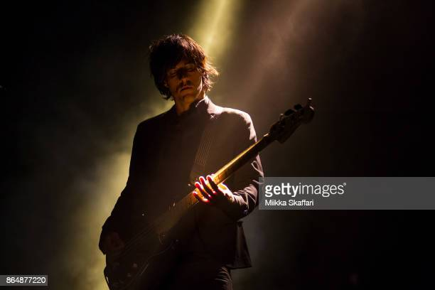 Bassist Matt McJunkins of A Perfect Circle performs at Monster Energy Aftershock Festival 2017 at Discovery Park on October 21 2017 in Sacramento...