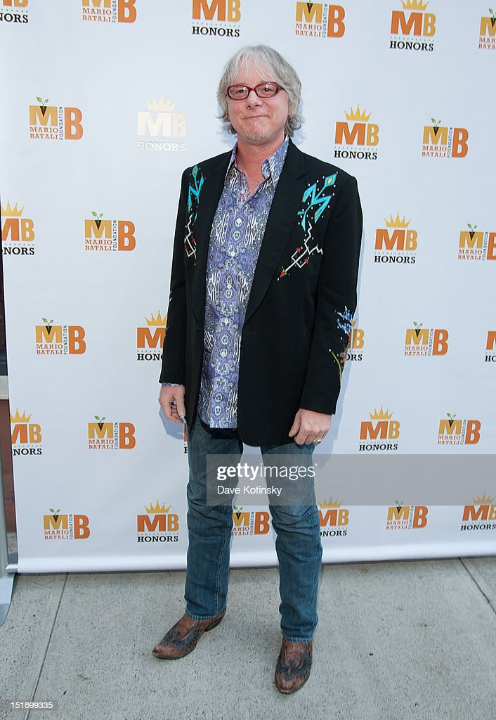 Bassist Mike Mills attends The Mario Batali Foundation Inaugural Honors Dinner at Del Posto Ristorante on September 9, 2012 in New York City.