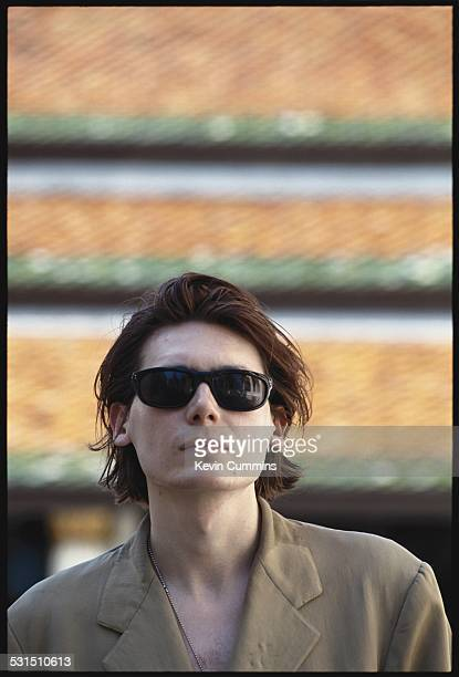 Bassist Nicky Wire of Welsh alternative rock group the Manic Street Preachers Bangkok Thailand 27th April 1994