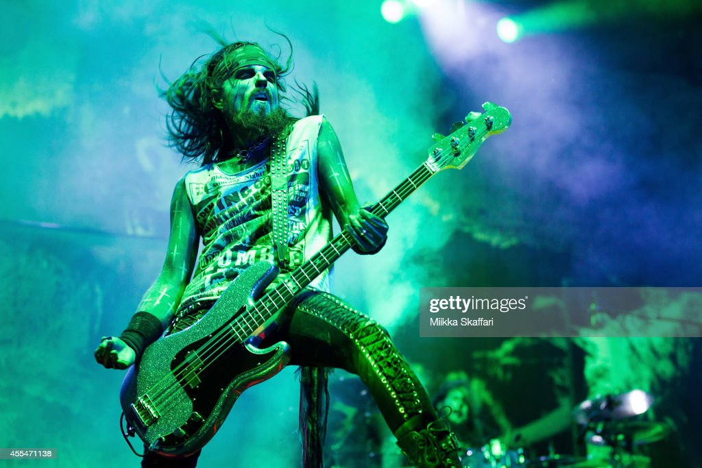 Bassist Piggy D of Rob Zombie performs at Aftershock Festival at Discovery Park on September 14 2014 in Sacramento California
