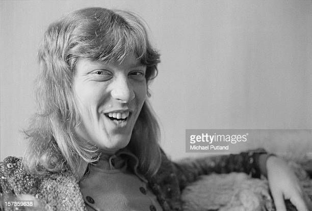 Bassist Steve Priest of British glam rock group The Sweet 12th October 1972