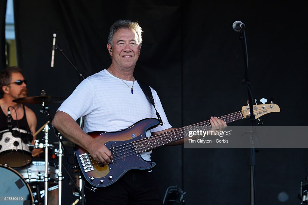 Bassist Stu Cook performing with Creedence Clearwater Revisited performing at the Queenstown Events Centre Queenstown Otago New Zealand 5th February...