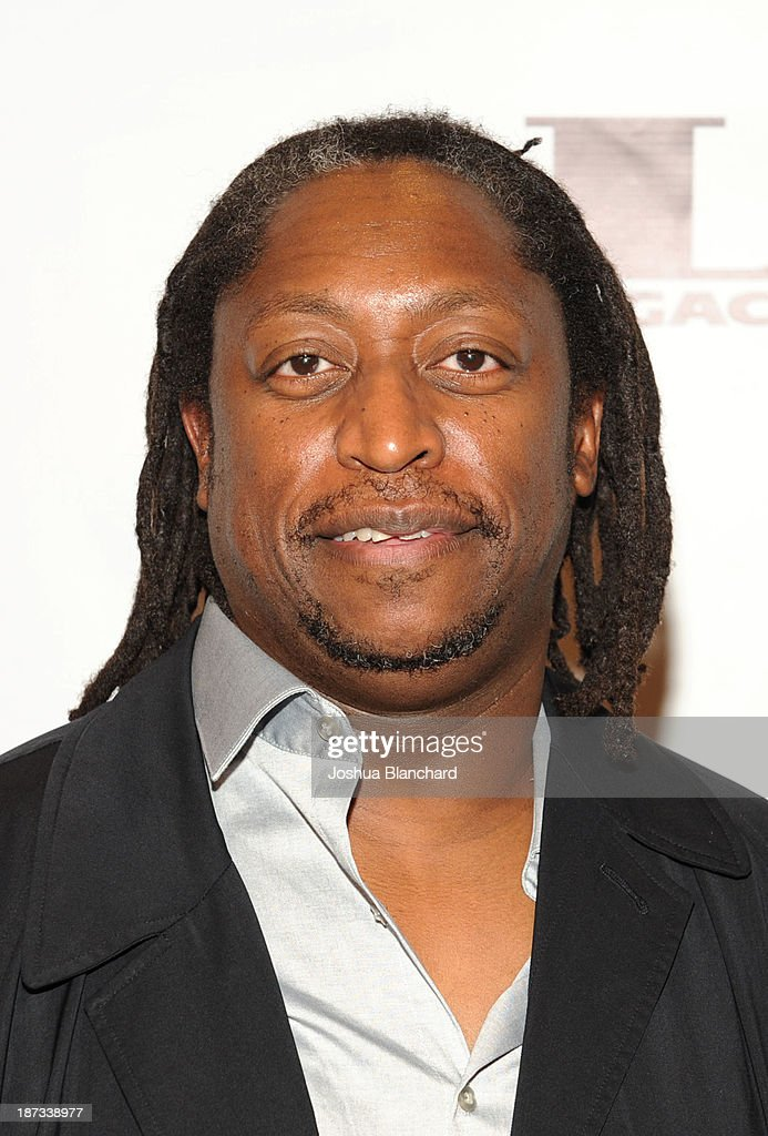 Bassit Darryl Jones arrives at Mr. Musichead Gallery for the 'Miles Davis: The Collected Artwork' Launch Party on November 7, 2013 in Los Angeles, California.