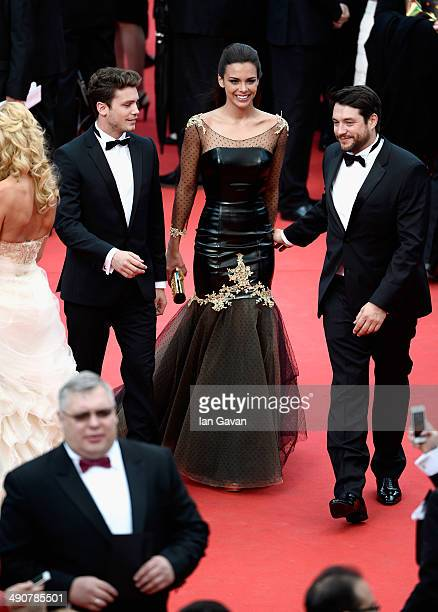 Bastian Baker and Marine Lorphelin attend the Opening ceremony and the 'Grace of Monaco' Premiere during the 67th Annual Cannes Film Festival on May...