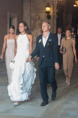 Bastian Schweinsteiger And Ana Ivanovic Civil Wedding In Venice - Sightings