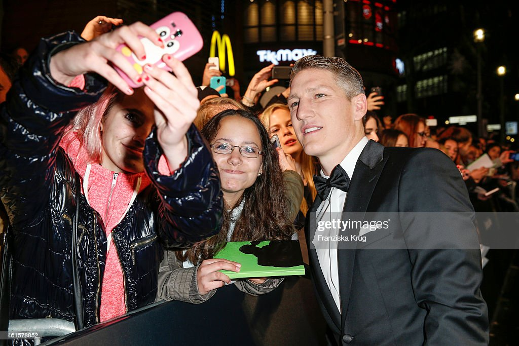 Bastian Schweinsteiger arrives at the Bambi Awards 2014 on November 13, 2014 in Berlin, Germany.