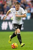Bastian Schweinsteiger of Germany during the International friendly match between France and Germany on November 13 2015 at the Stade France in Paris...