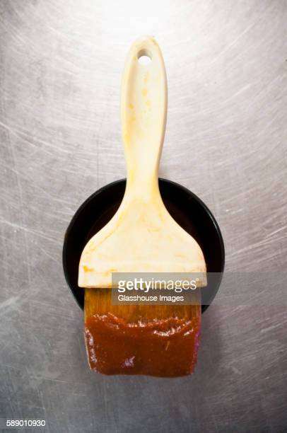Basting Brush and BBQ Sauce