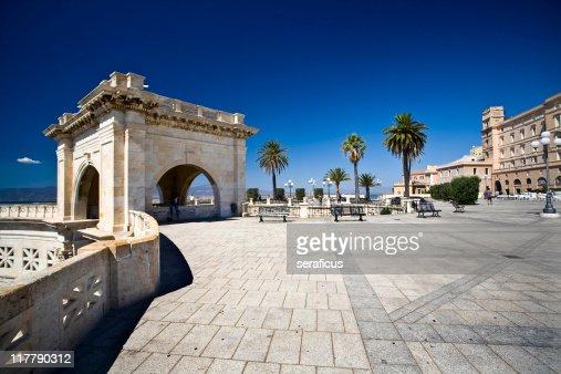 Bastione Saint Remy, Cagliari