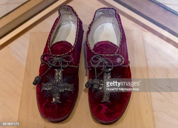 Bata Shoe Museum Pope Benedict XV red shoes in historic timeline The museum collects researches preserves and exhibits footwear from around the world