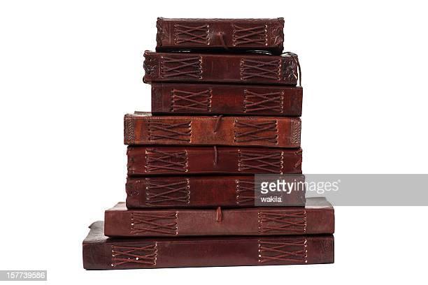 batch brown leatherbooks Tagebuch und notebooks vom indiary-Lederbücher
