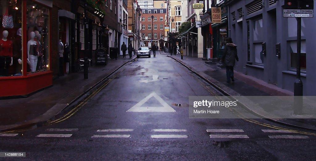 Bateman street, Soho
