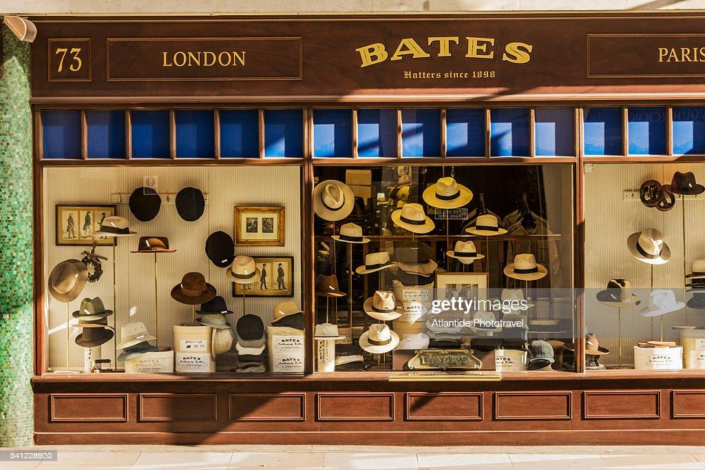 Bates Hats shop