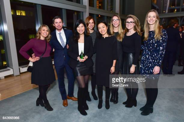 Bath Body Works Group at The Fragrance Foundation The Notables at LVMH Tower Magic Room on February 16 2017 in New York City