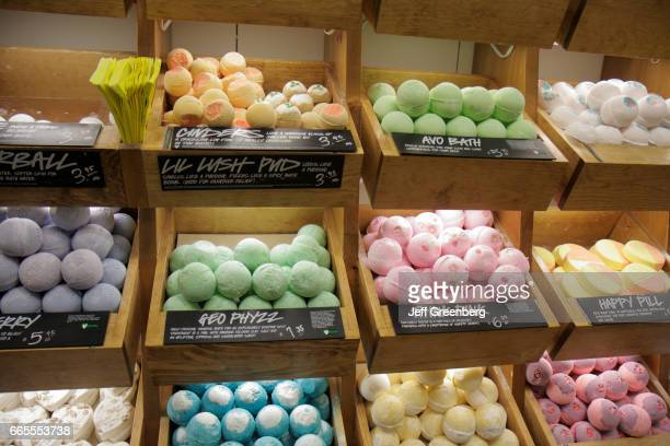 Bath bombs for sale inside Macy's Department Store at Westland Mall