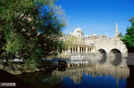 Bath in the summer : Stock Photo