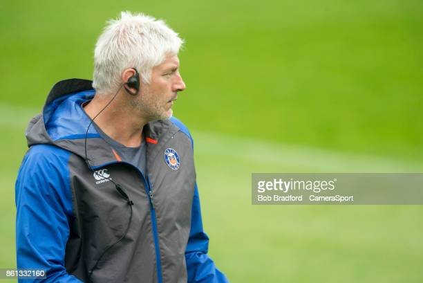 Bath Rugby's Head Coach Todd Blackadder during the European Rugby Champions Cup match between Bath Rugby and Benetton Rugby at Recreation Ground on...