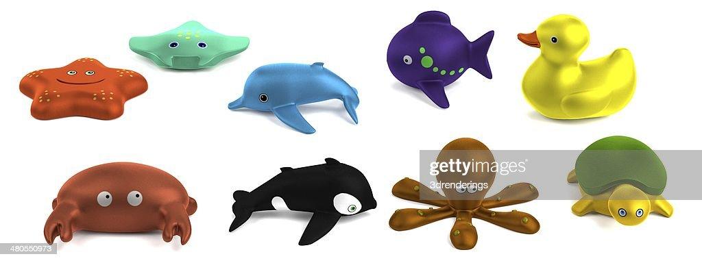 bath toys : Stock Photo