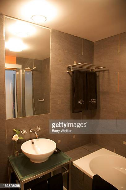Bathroom at International Design Hotel, Lisbon, Portugal