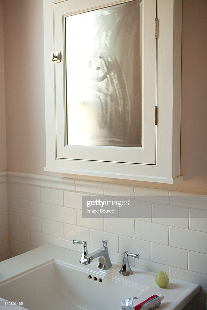 Bathroom Cabinet And Sink Stock Photo Getty Images