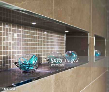 bathroom decorative feature