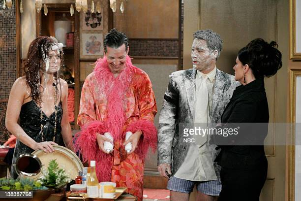 WILL GRACE  Bathroom Humor  Episode 11 Pictured Debra Messing as Grace  Adler Sean Hayes. Eric Tie Stock Photos and Pictures   Getty Images