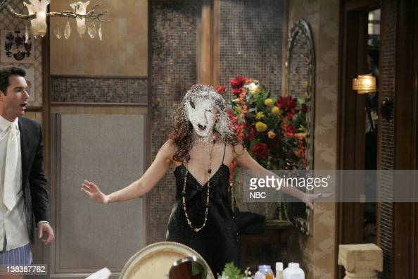 WILL GRACE Bathroom Humor Episode 11 Pictured Eric McCormack as Will Truman  Debra Messing  Air. Will And Grace Bathroom Humor