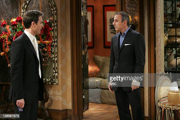 WILL GRACE Bathroom Humor Episode 11 Pictured Eric McCormack as Will Truman  Matt Lauer  Nup. Will And Grace Bathroom Humor