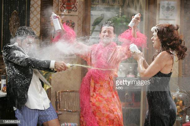 WILL GRACE  Bathroom Humor  Episode 11 Pictured Eric McCormack as Will  Truman Sean Hayes. Air Date 01 12 2006 Stock Photos and Pictures   Getty Images