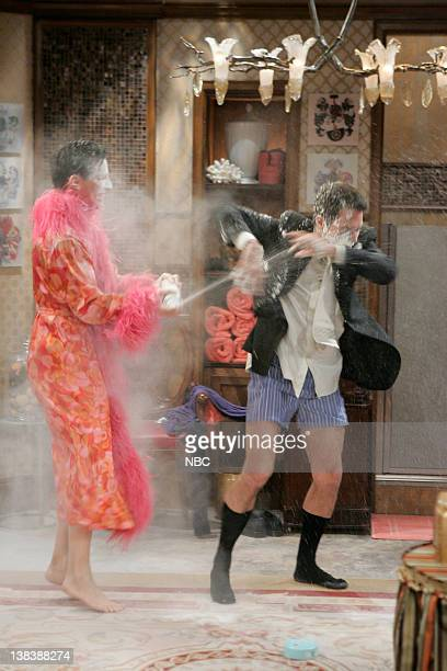 WILL GRACE  Bathroom Humor  Episode 11 Pictured Sean Hayes as Jack  McFarland Eric McCormack. Air Date 01 12 2006 Stock Photos and Pictures   Getty Images