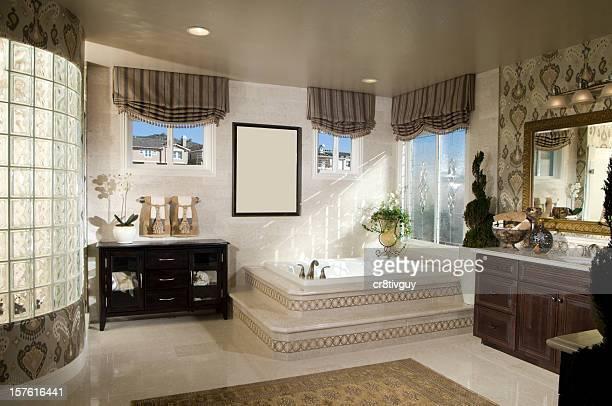 Intérieur de la salle de bains Design