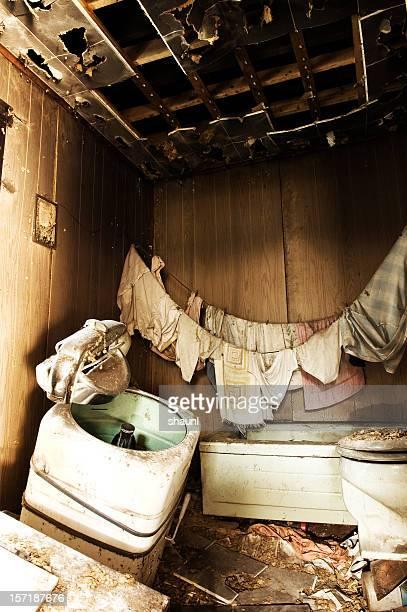 Intérieur d'une salle de bains