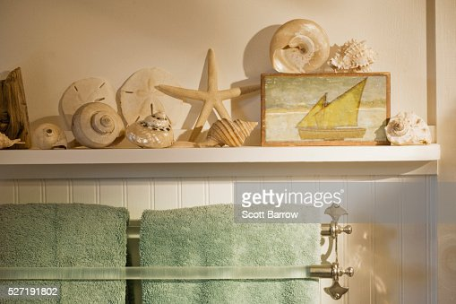 Bathroom of summer cottage : Stock-Foto
