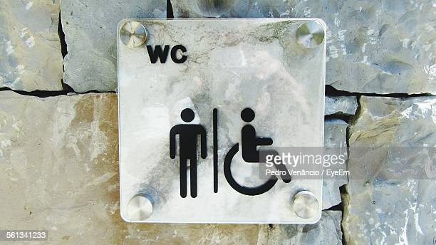 Bathroom Sign Texture restroom sign stock photos and pictures | getty images