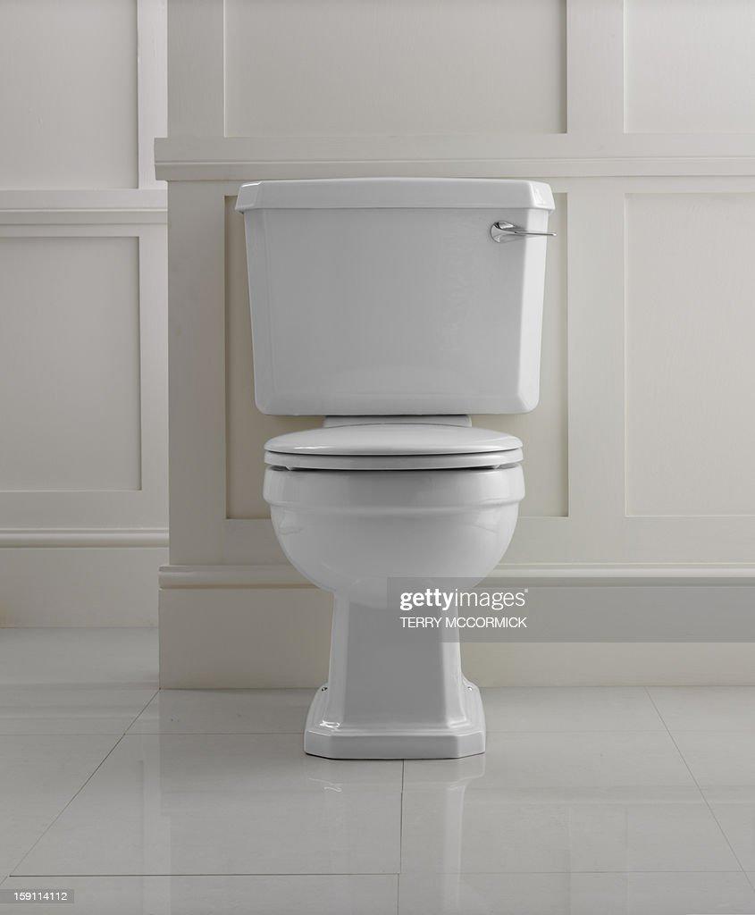 Bathroom toilet : Stock Photo