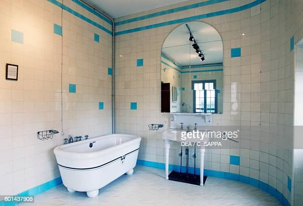 Bathroom Villa Arnaga home of Edmond Rostand CambolesBains Aquitaine France 20th century