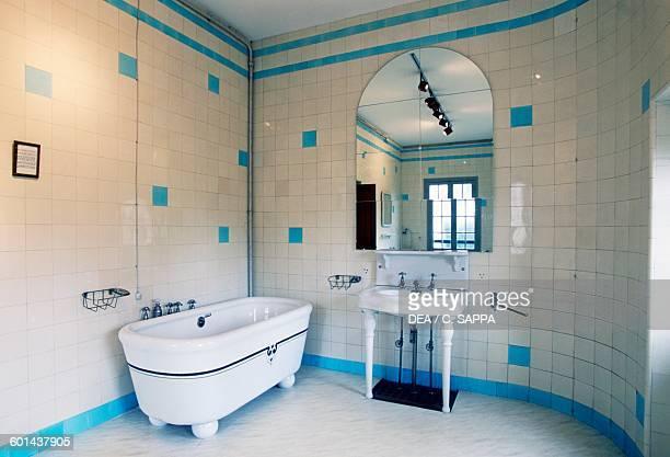 Bathroom Villa Arnaga home of Edmond Rostand CambolesBains Aquitaine France 20th century