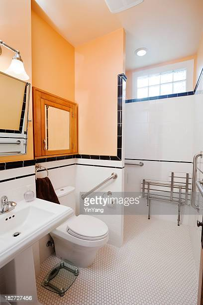 Bathroom with Handicap, Physical Impairment Accessibility Residential Home