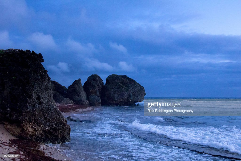 Bathsheba Beach, Barbados : Stock Photo