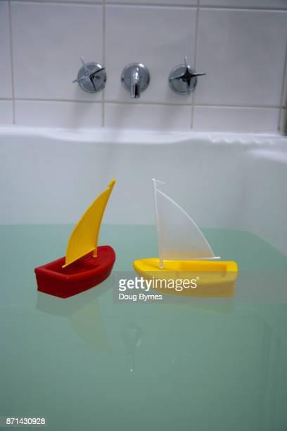 Bathtime yacht race